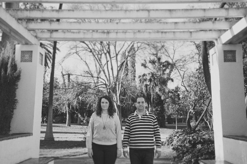 Fotografías en el Parque de Los Príncipes de Sevilla