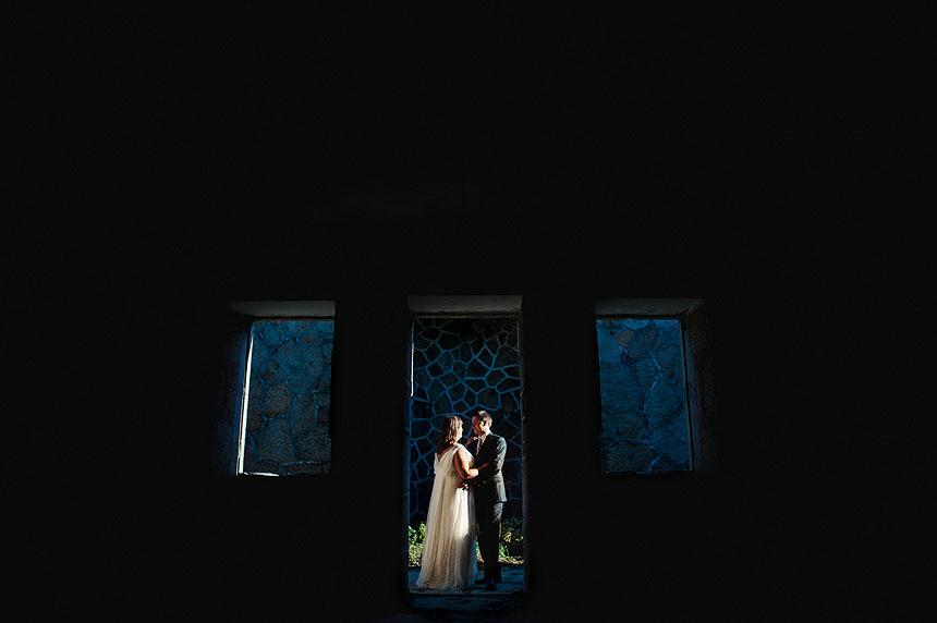 Sesión fotográfica de boda en el faro de Cabo Prior de Ferrol