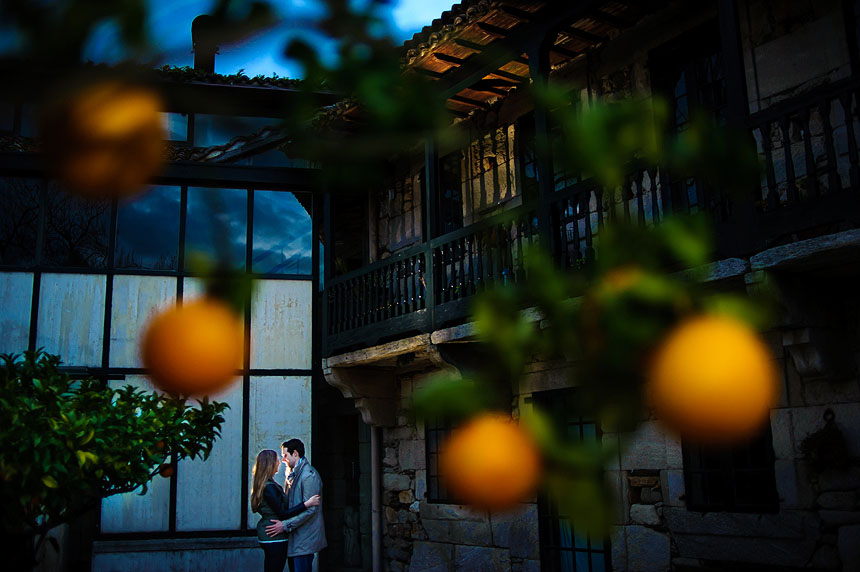 Fotos de boda en el Pazo da la Merced
