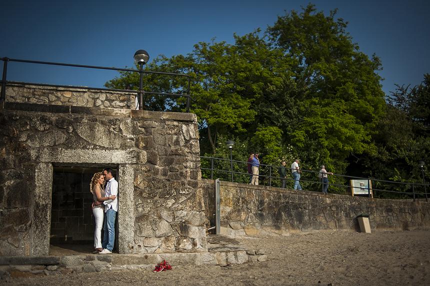 Sesión de fotos de preboda en Oleiros