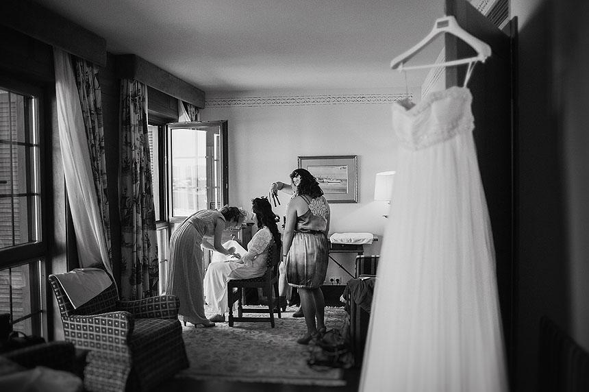 Fotografías de boda en el Restaurante O Peñasco de Baiona