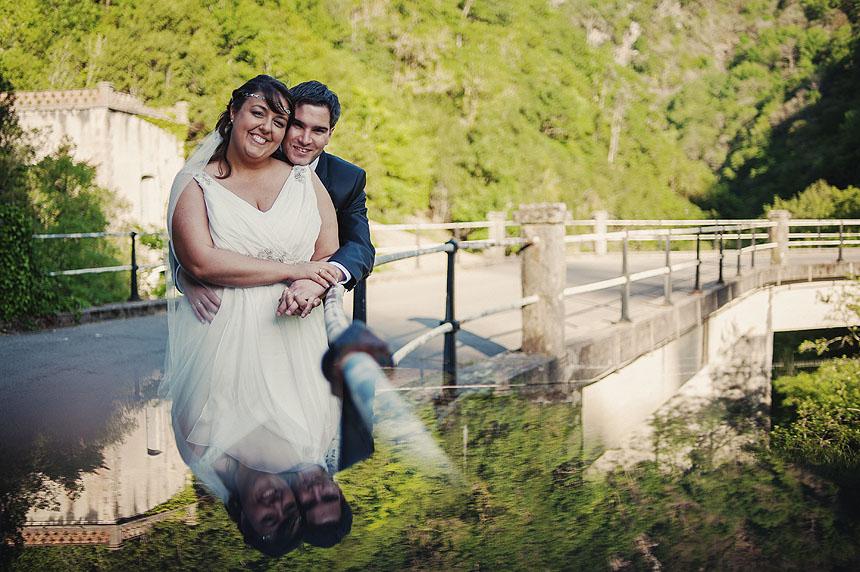 Fotografías de boda en el Hotel Fragas do Eume de Ferrol