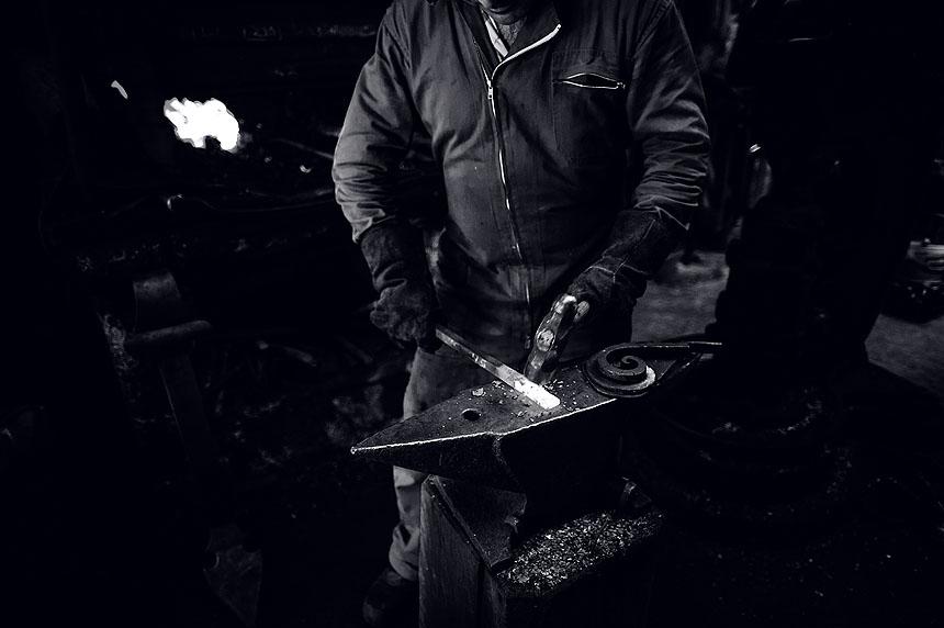 Fotografía de oficios artesanos en A Coruña
