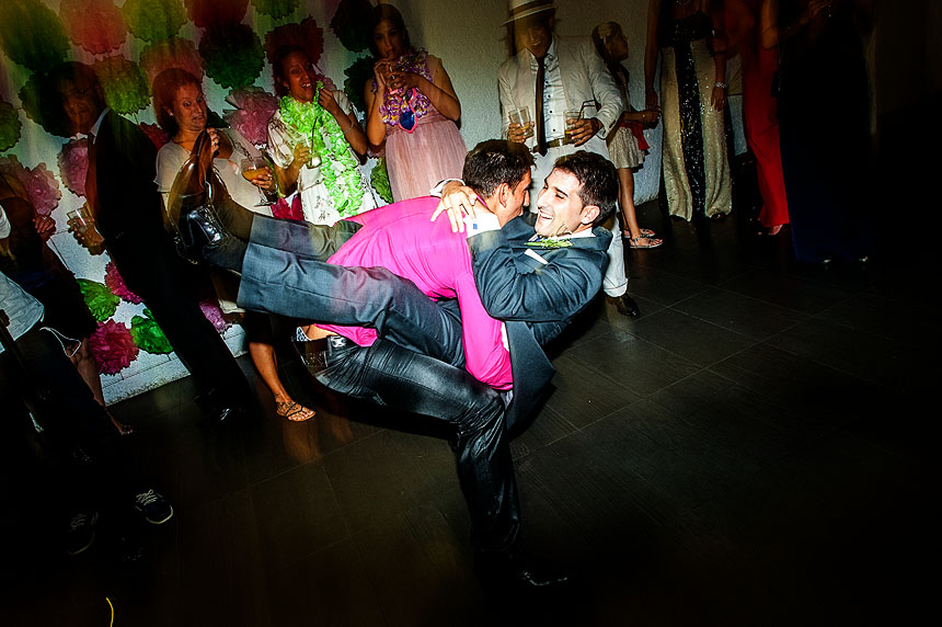 Sesión de fotos de boda el Pazo de San Fernando de Coruña
